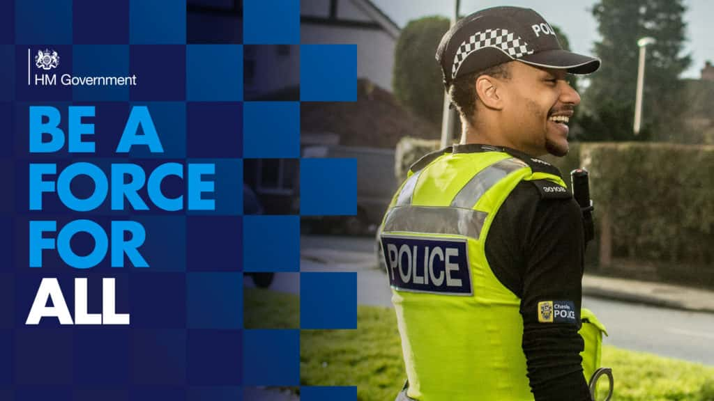 Join the police : be a force for all