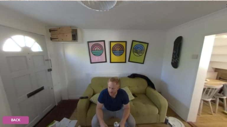 Police Now - Virtual events - Inside the flat