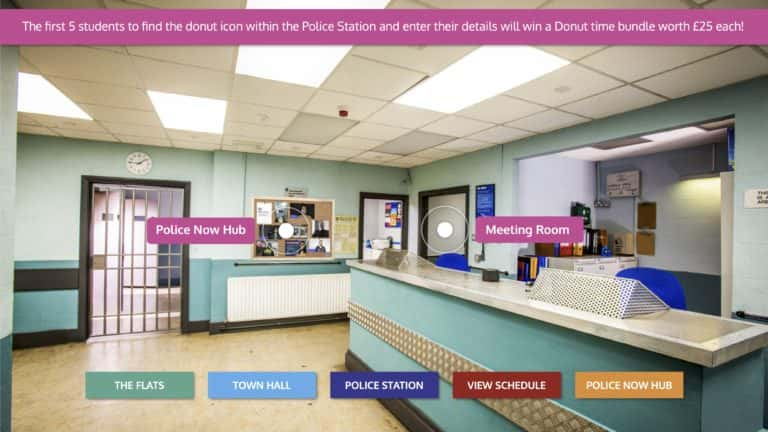Police Now - Virtual events - Inside the police station