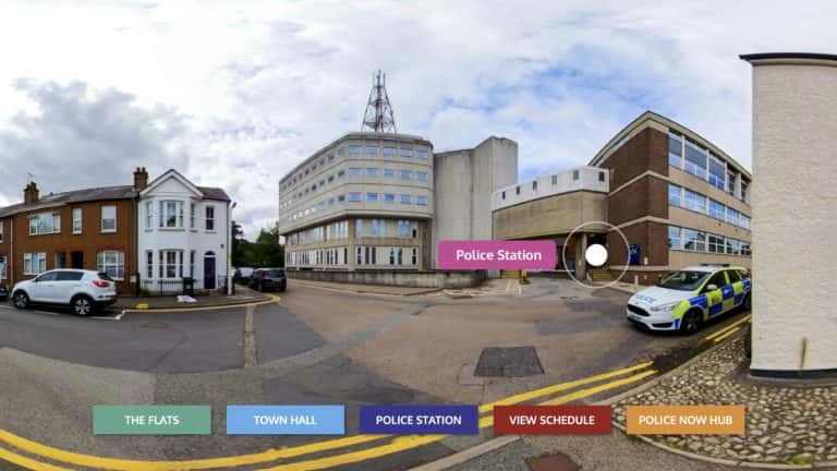 Police Now - Virtual events - Police Station