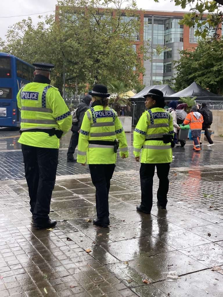 Operation Lance - Picadilly Gardens. Police Now Officers & GMP Colleague-2