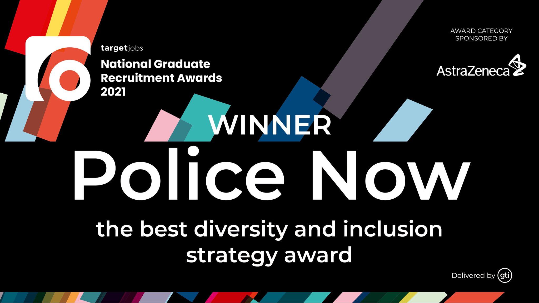 TARGETjobs - Winner, Police Now