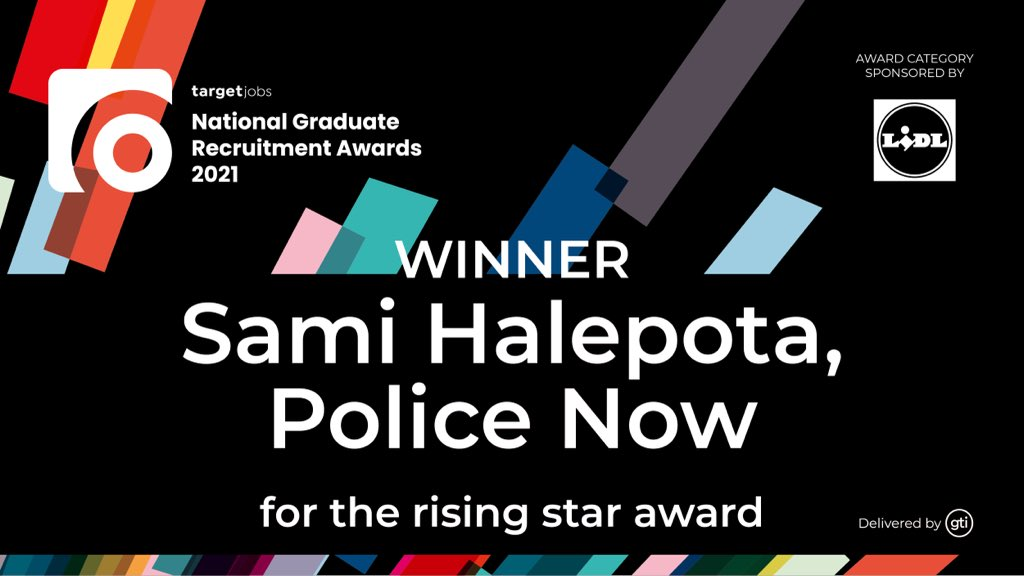 TARGETjobs - Winner, Sami Halepota